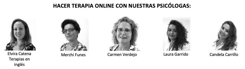 Equipo psicología clínica Presentia Granada